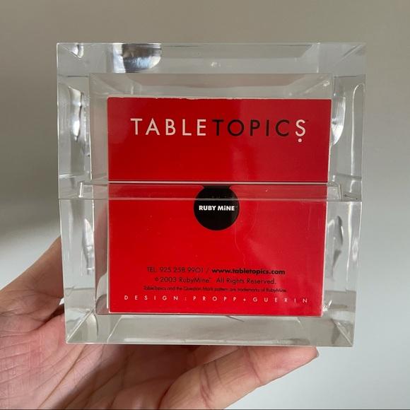 -SOLD- Table Topics - Original